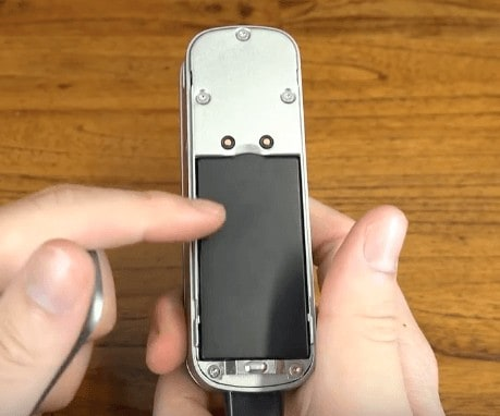 acces rapide a la batterie