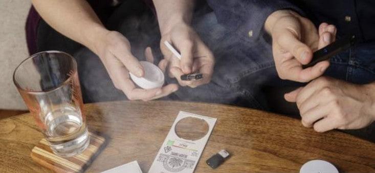 utilisateurs de vaporisateurs de cannabis